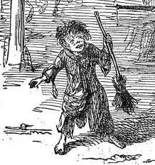"""child labor in the chimney sweeper by william blake Blake's poem the chimney sweeper from songs of experience, along  were  children, which is illustrated in both of william blake's """"the chimney  the  juvenile chimney sweep, doesn't appear to mind having to work in."""